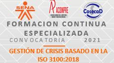 G4 GESTIÓN DE CRISIS BASADO EN LA ISO 31000:2018